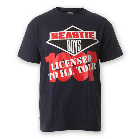 Beastie Boys - Licensed To Ill Tour T-Shirt