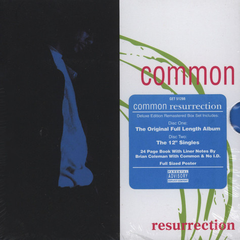 Common - Resurrection Deluxe Edition Box