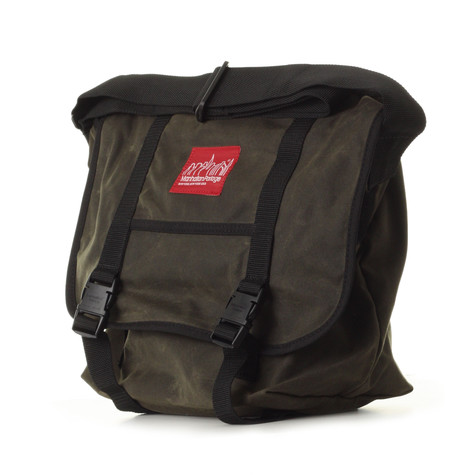 Manhattan Portage - Wax Canvas Messenger Bag Medium