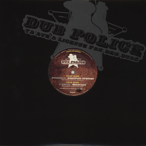 Subscape / J Kenzo - Dubpolice / Scion Limited Edition Part 3