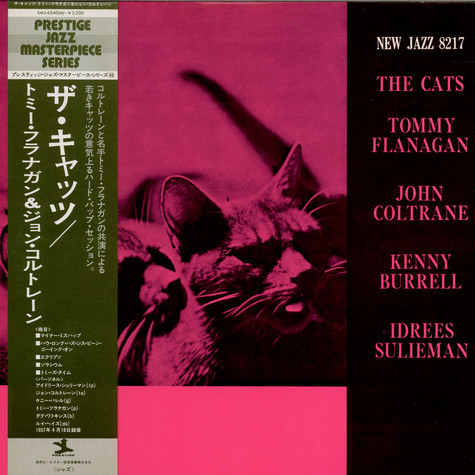 Tommy Flanagan, John Coltrane, Kenny Burrell & Idrees Sulieman - The Cats