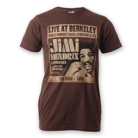 Jimi Hendrix - Live at Berkeley T-Shirt