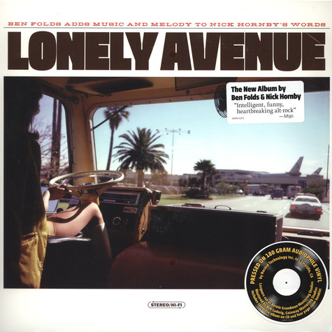 Ben Folds/ Nick Hornby - Lonely Avenue