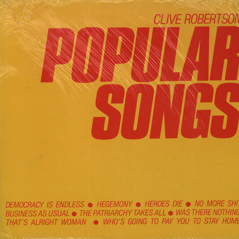 Clive Robertson - Popular Songs