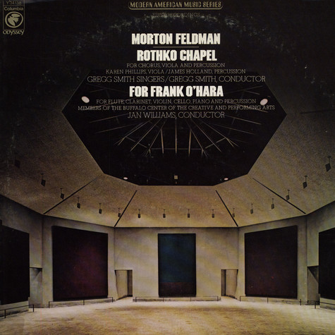 Morton Feldman - Rothko Chapel / For Frank O'Hara