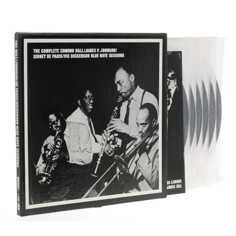 Edmond Hall / James P. Johnson / Sidney De Paris / Vic Dickenson - The Complete Edmond Hall / James P. Johnson / Sidney De Paris / Vic Dickenson Blue Note Sessions