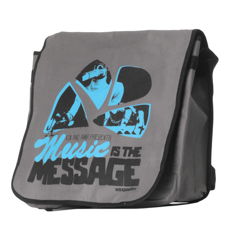 101 Apparel - Music Is The Message Laptop Bag