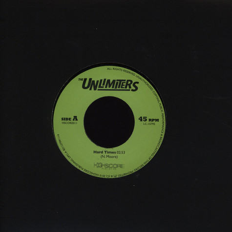 Unlimiters, The - Hard Times