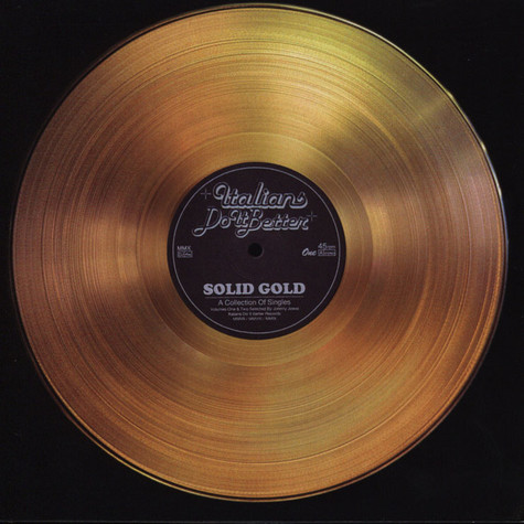 V.A. - Italians Do It Better - Solid Gold