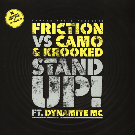 DJ Friction - Stand Up