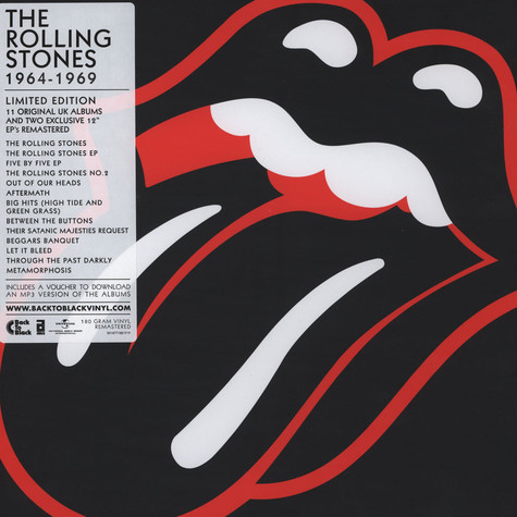 Rolling Stones, The - 1964-1969 Vinyl Box Set