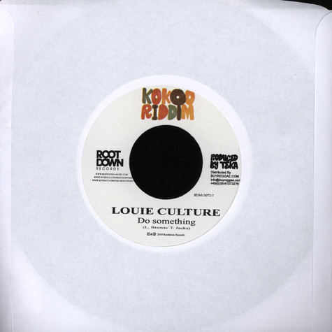Louie Culture / Lloyd Brown - Do Something / She Nah