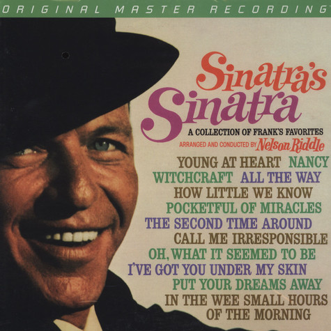 Frank Sinatra - Sinatra's Sinatra: A Collection Of Frank's Favorites
