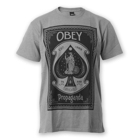 Obey - Ace Of Spades T-Shirt