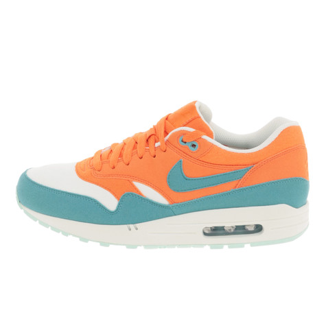 Nike - Air Max 1. Other available colors. Bright Mandarin / Mineral Blue