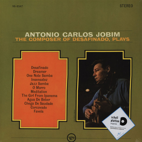 Antonio Carlos Jobim - The Composer Plays