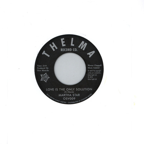 Martha Star - Love Is The Only Solution