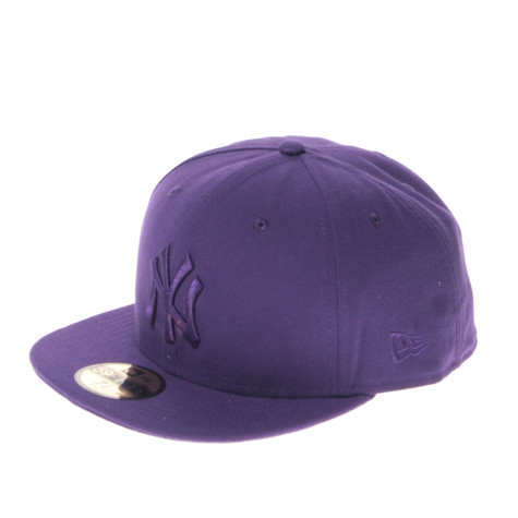 984f51909d5 New Era - New York Yankees Leag Ton MLB Cap (Deep Purple)