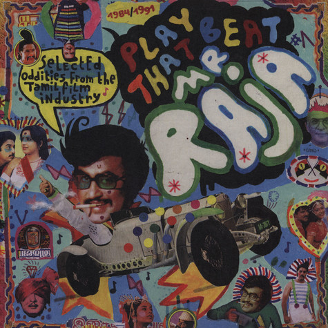 V.A. - Play That Beat Mr Raja #1 - Selected Oddities From The Tamil Film Industry 1984-1991