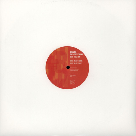 Atjazz & Fred Everything - Back Together