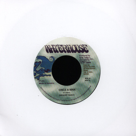 Gregory Isaacs - Once A Man