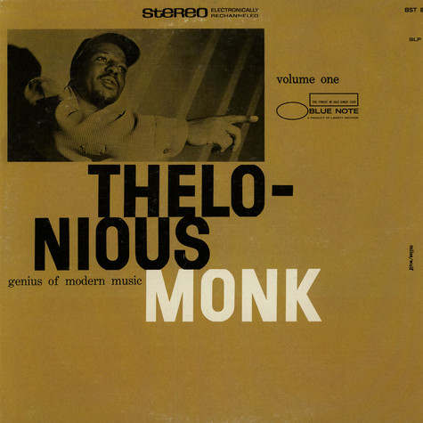 Thelonious Monk - Genius Of Modern Music Volume 1