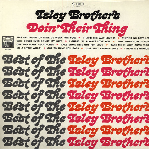 Isley Brothers - Doin' Their Thing