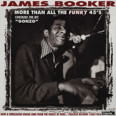 James Booker - More Than All The Funky 45's
