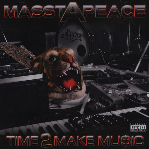 Masstapeace (Tygastyle, Legendary Axe and DJ Slipwax) - Time 2 Make Music