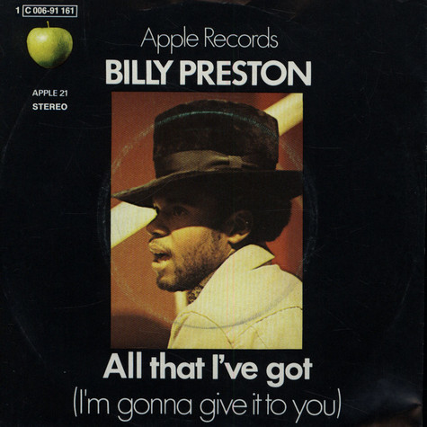 Billy Preston - All That I've Got (I'm Gonna Give It To You)