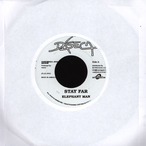Elephant Man / Bugle - Stay Far / How Me Funktion