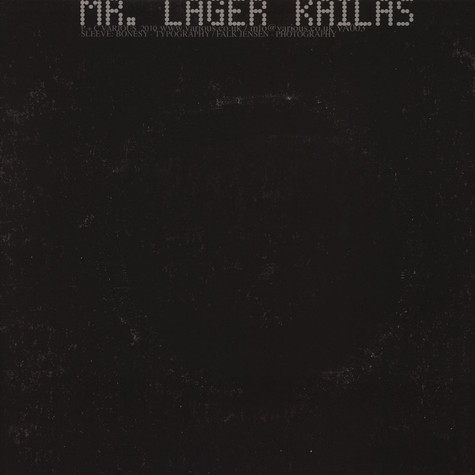Mr Lager - Kailas