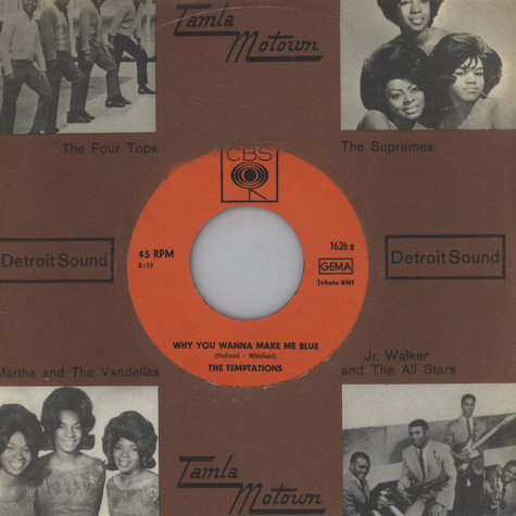 Temptations - Why You Wanna Make Me Blue