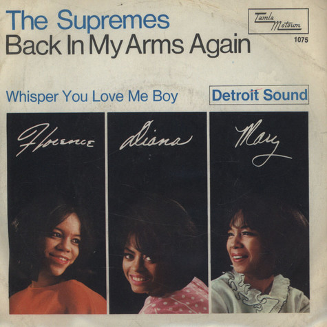 Supremes, The - Back In My Arms Again