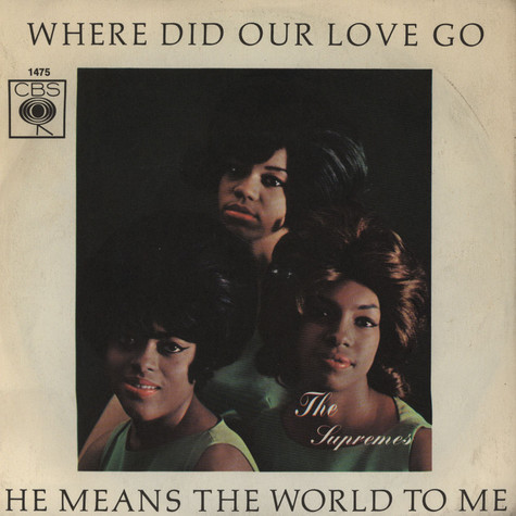 Supremes, The - Where Did Our Love Go