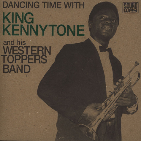 King Kennytone And His Western Toppers Band - Dancing Time With King Kennytone