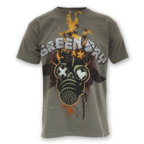 Green Day - Fire Mask T-Shirt