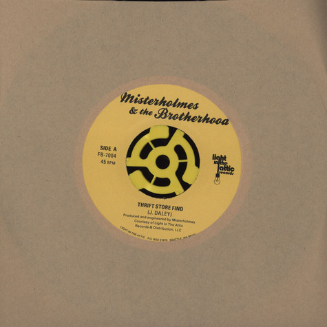 Misterholmes & The Brother Hood / CSC Funk Band - Thrift Store Find