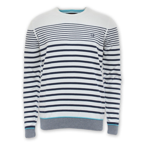 Ben Sherman - Stripe Long Sleeve Crew Sweater
