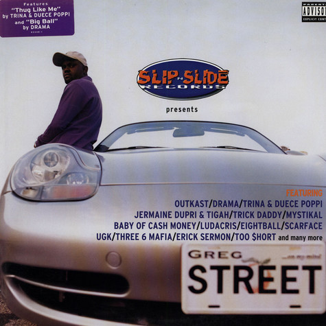 Slip-N-Slide presents - Greg street