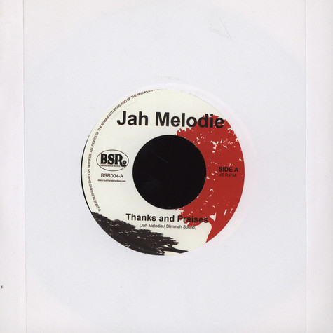 Jah Melodie - Thanks And Praises
