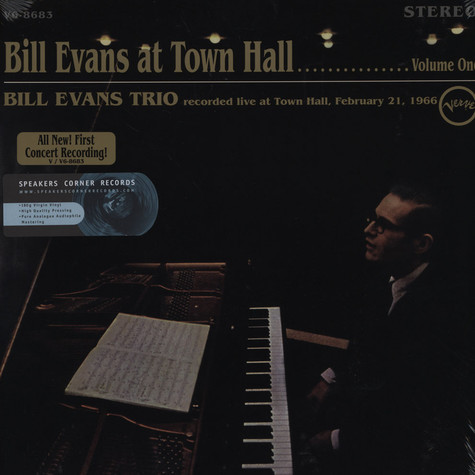 Bill Evans - Bill Evans At Town Hall Vol. 1