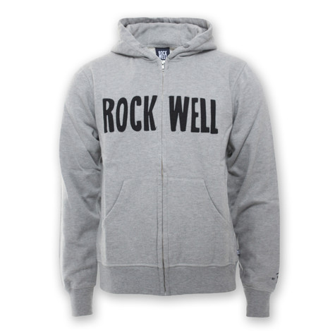 Rockwell - Heavyweight Logotype Zip-Up Hoodie