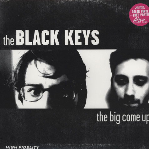 Black Keys, The - The Big Come Up Colored Vinyl Edition