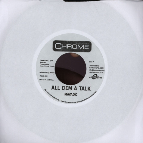Mavado / Tony Matterhorn - All Dem A Talk / Greatest Of All Time