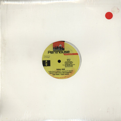 Brian & Tony Gold / Buju Banton / Tony Rebel / Terry Ganzie - Tribal War