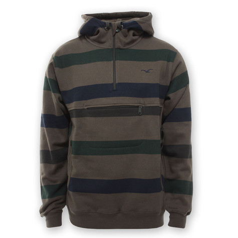 Cleptomanicx - Hooded Stripe Color Sweater