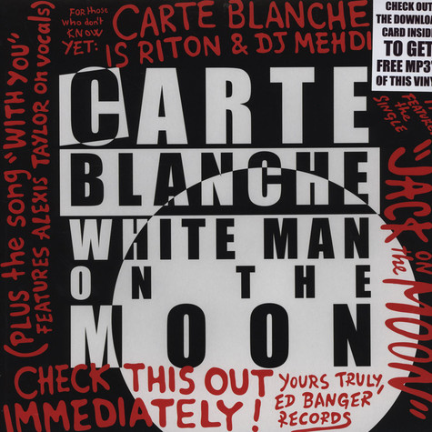 Carte Blanche (Riton & DJ Mehdi) - White Man On The Moon