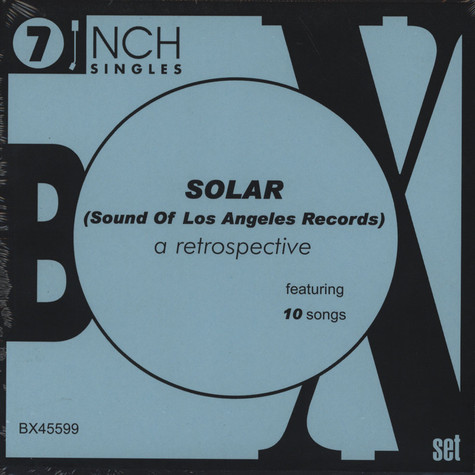 V.A. - Solar - Sound Of Los Angeles Records