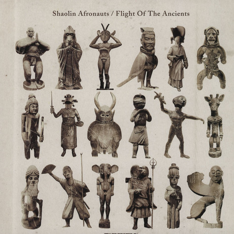 Shaolin Afronauts, The - Flight Of The Ancients